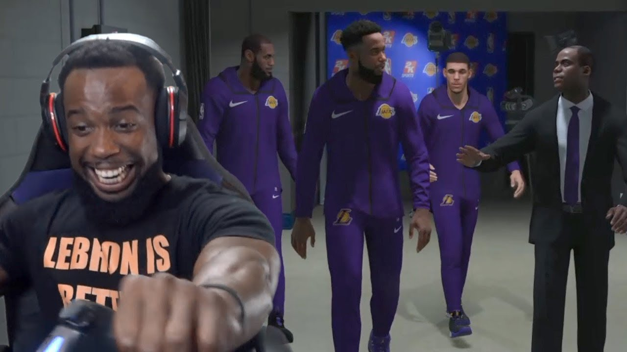 0b4b6bd636a4 My First Game As A Los Angeles Lakers Starter with Lebron! NBA 2K19  MyCareer Ep. 16