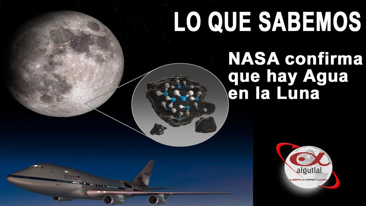 NASA encuentra abundante Agua en la Luna | LO QUE SABEMOS
