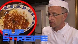 Igitt! Haare in der Spaghetti - Hat der Koch gepfuscht? | Auf Streife | SAT.1 TV
