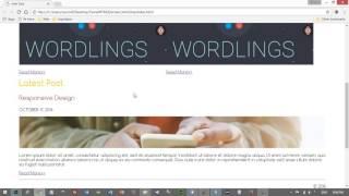 Web Tasarımı Dersleri CSS Ders 25 Proje 1 Bölüm 6 Container