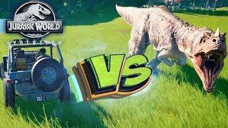 Провоцируем ХИЩНИКОВ ДЖИПОМ - Jurassic World EVOLUTION - Прохождение #3