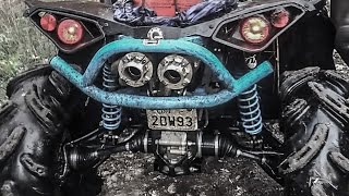 Repeat youtube video Can Am 1000 Exhaust Comparison (RJWC, HMF, LOONEY TUNED)
