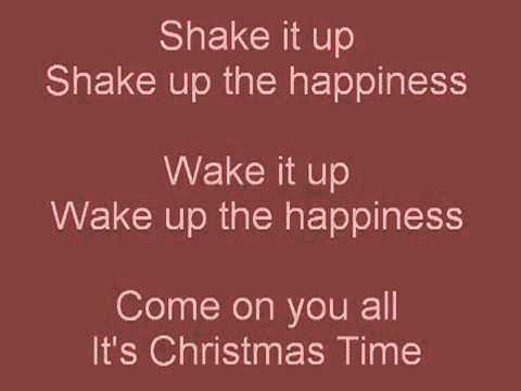 Train Shake up Christmas Lyrics Coca Cola Christmas Song 2010 - YouTube