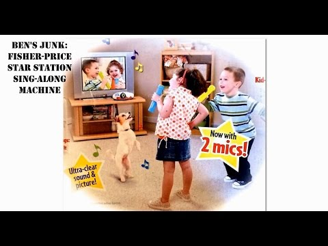 Oddity Archive: Episode 108.5 – Ben's Junk: Fisher-Price Star Station Sing-Along Machine