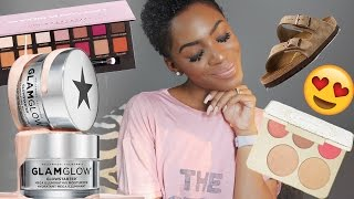 JUNE/JULY FAVORITES: Jesus Sandals, Natural Hair, Makeup Palettes ▸ VICKYLOGAN