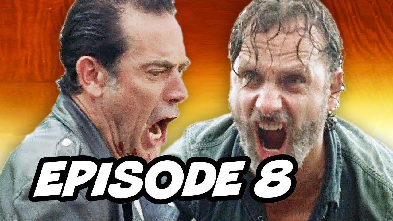 Download Walking Dead Season 7 Episode 8 - Finale TOP 10 WTF Rick Grimes vs Negan