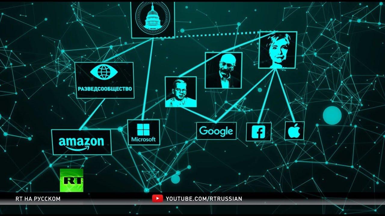 Тонкая грань: партнёрство властей и интернет-гигантов в США
