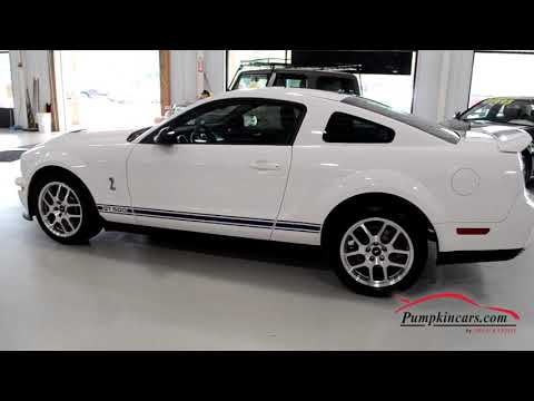 2008 FORD MUSTANG GT 500 SHELBY