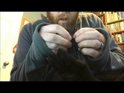 Random Whisper #47 -- Sewing / Repairing Mechanic Glove (ASMR)
