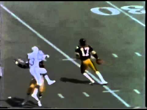 1974 wk 1 Colts at Steelers Gilliam Debuts