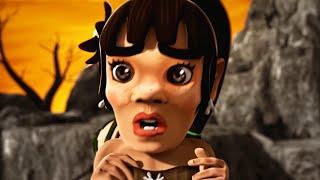 Oko Lele 47 - Born A Fighter - CGI animated short - Super ToonsTV