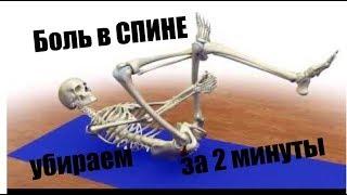 СПЕЦ УПРАЖНЕНИЯ при БОЛЯХ в СПИНЕ - Special EXERCISES for BACK  PAIN