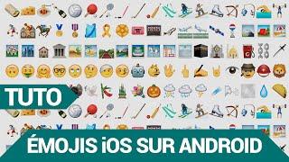 [TUTO] Emojis iOS sur Android 😍 – Snapchat ! (Emoji Switcher)