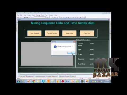 Final Year Projects   Mining Sequence Data & Time Series Data