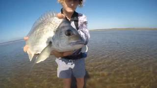 winter beach session | bream, flathead and whiting 2017