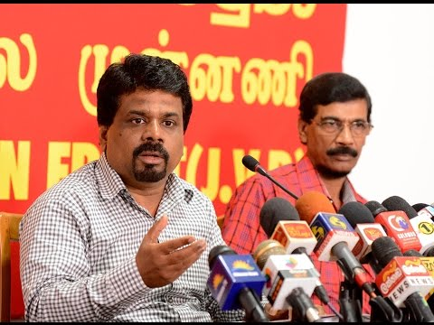 JVP press conference on 09.11.2015