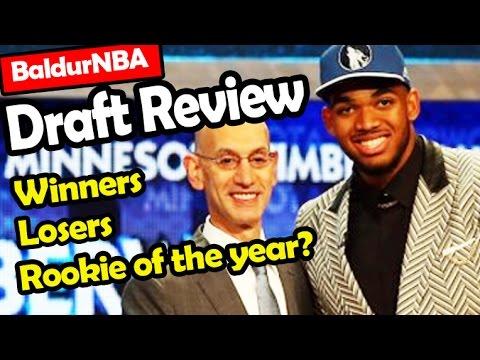 2015 NBA Draft Review - Winners, Losers & Rookie of the year | BaldurNBA