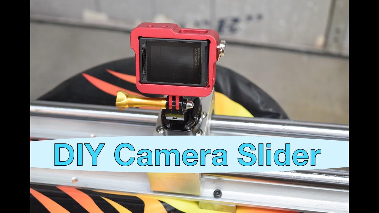 Diy Camera Slider Gopro Dslr Motorized Remote