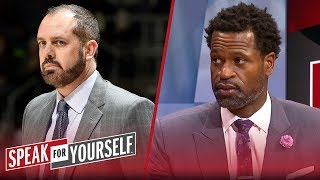 Lakers players \'won\'t have no respect\' for Frank Vogel - Stephen Jackson | NBA | SPEAK FOR YOURSELF