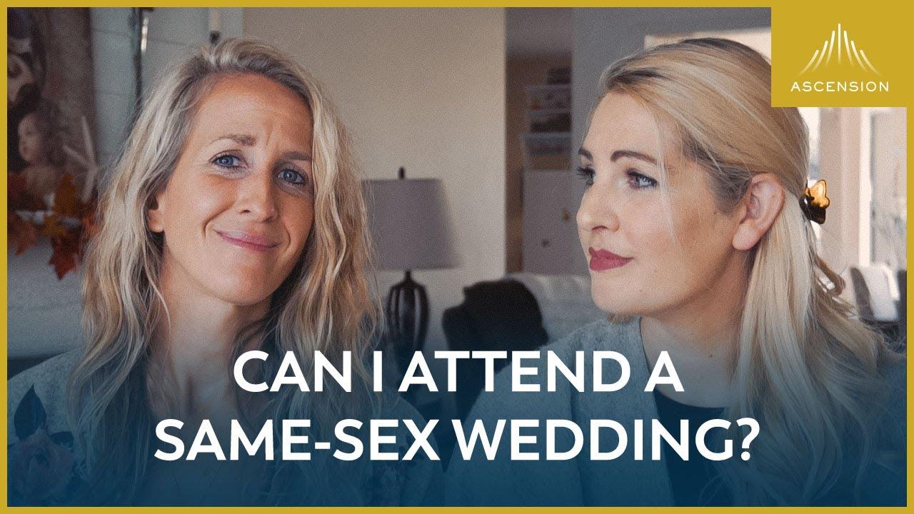 Can I Attend a Same-Sex Wedding?