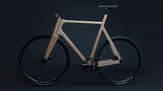 wooden bicycles