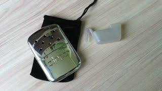 Бензиновая грелка  ZIPPO Hand warmer распаковка и обзор