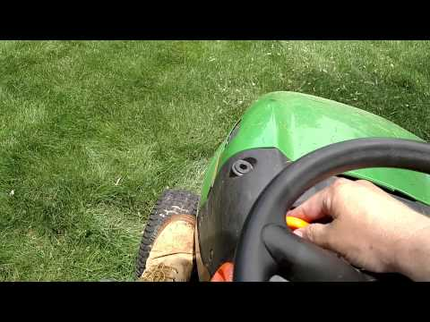 John Deere Vs. Husqvarna Riding Mower
