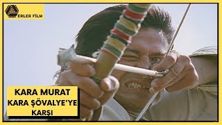 Kara Murat Kara Şövalye'ye Karşı | Cüneyt Arkın, Burçin Doğu | Türk Filmi | Full HD