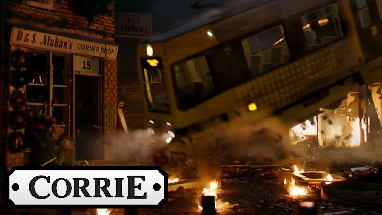 Coronation Street Car Crash