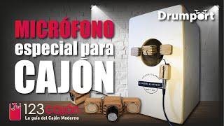 Micrófono para CAJÓN - Unboxing y Reseña de DCM-01 Drumport Cajon Microphone