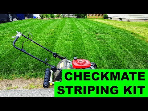 Checkmate Striping Kit - Installation / First Use