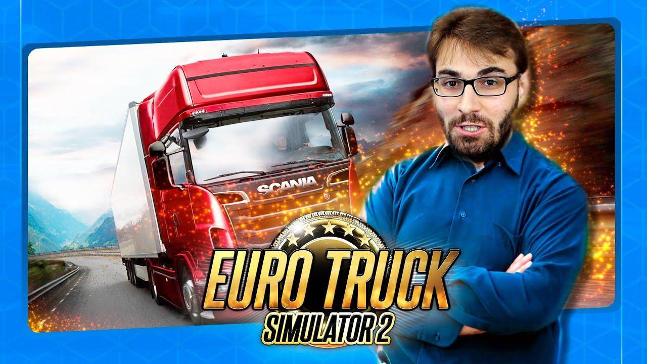 BRKSEDU - Noob Joga EURO TRUCK SIMULATOR 2 Pela PRIMEIRA VEZ!
