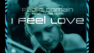 Public Domain Feat. Lucia Holm - I Feel Love (Dirty Tech Trance Mix)
