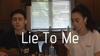 Lie To Me - 5 Seconds of Summer Cover (By Dane & Stephanie)