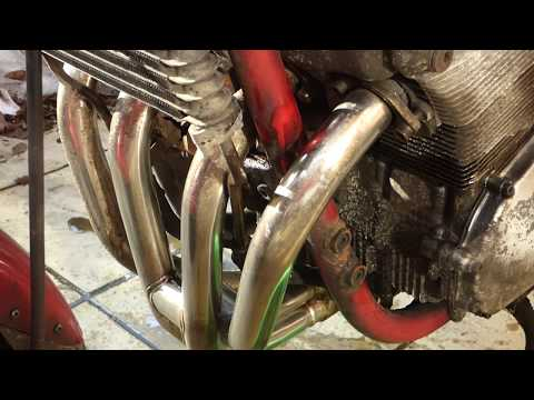 Cleaning EXHAUST headers with bleach (HARPIC)