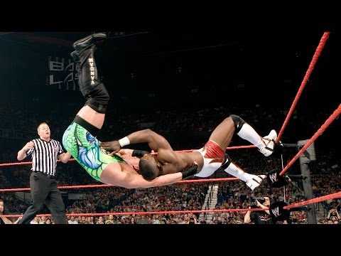 Shelton Benjamin shows his freakish athleticism against Rob Van Dam: Backlash 2006
