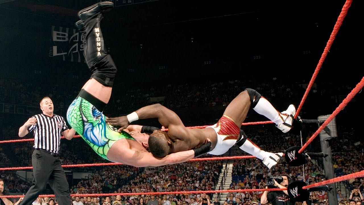 Image result for WWE Backlash 2006 Shelton Benjamin vs Rob Van Dam wwe.com
