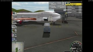 Airport Simulator 2013 Plane Arrived [1080p]