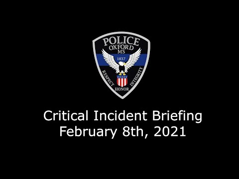 February 8th, 2021 Critical Incident Video
