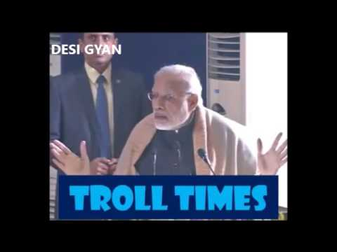 This video of PM Modi imitating Rahul Gandhi will make you LAUGH so hard !