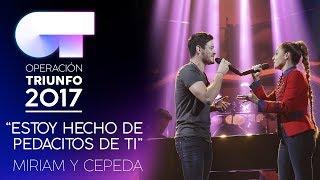 Смотреть клип Miriam Y Cepeda - Estoy Hecho De Pedacitos De Ti