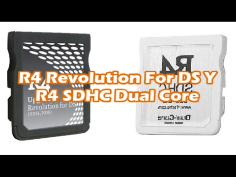 Cómo Configurar EL R4 Revolution For DS y SDHC Dual Core