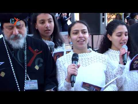 Pope Tawadros in st. Mary Church Sydney 1/9/2017, CYC Broadcast Wireless Camera