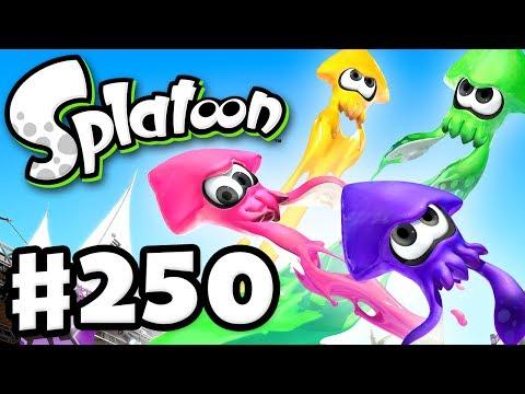 Splatoon  Gameplay Walkthrough Part 250  Battle Dojo, Rainmaker, and Splatoon 2! Nintendo Wii U