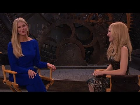 WATCH: Nancy O'Dell Guest Stars for a Big SitDown on 'Liv and Maddie'
