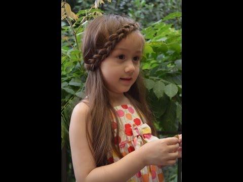 Kiểu tóc tết mái dễ thương / Front side braid-  Camilla ThyThy - Đồng An :
