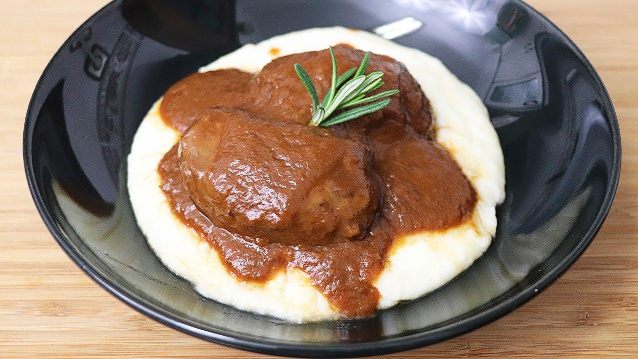Carrilleras de cerdo en salsa de vino tinto !!!MUY TIERNAS¡¡¡