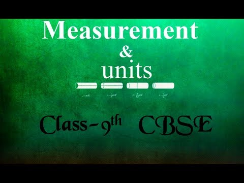 Chapter 1 || Measurements And Units || With Notes || Complete Chapter || Class 9th || Physicstimes@