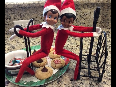 Elf on the shelf caught pooping christmas cookies youtube for Elf on the shelf pooping on cookies