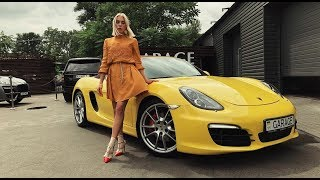 Porsche Boxster S (2012) тест-драйв в городе от Елены Добровольской